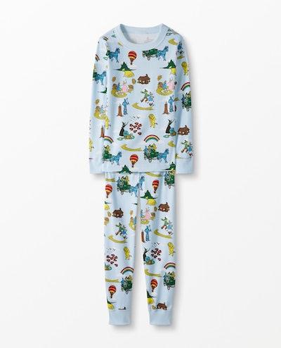 The Wizard Of Oz™ Long John Pajamas In Organic Cotton