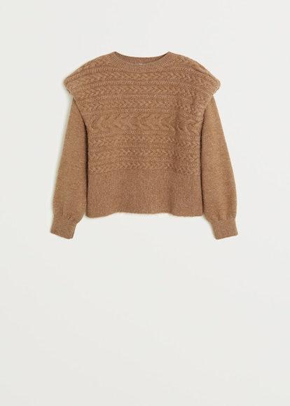 Chunky-Knit Sweater
