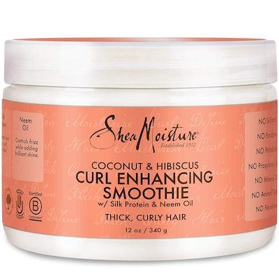 Shea Moisture Coconut Hibiscus Curl Enhancing Smoothie, 12 Fl. Oz