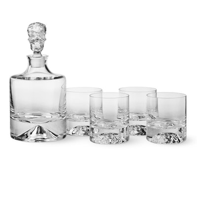 Shade Skull Decanter and Glasses