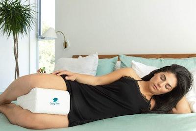 Cushy Form Knee Pillow For Side Sleeping