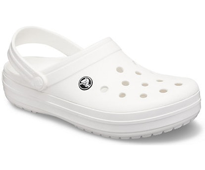 Crocband Clog in White/White/White