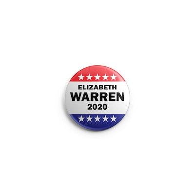 Elizabeth Warren Election 2020 Pin