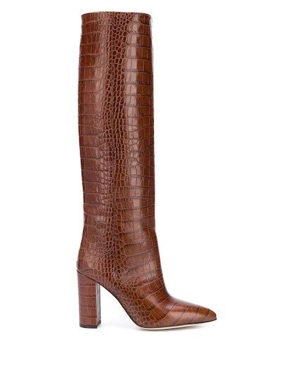 Moc Croco High Boots