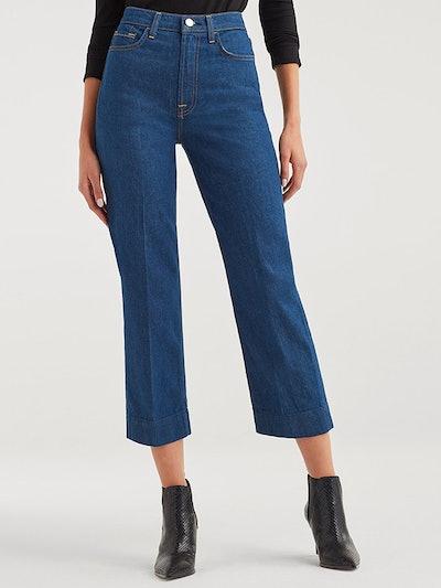Baby Jo Jeans In Avant Rinse