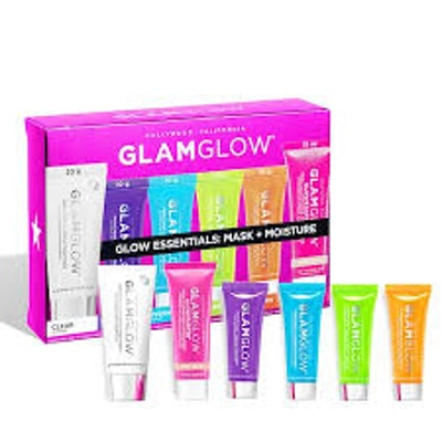 Glow Essentials Mask And Moisture Set