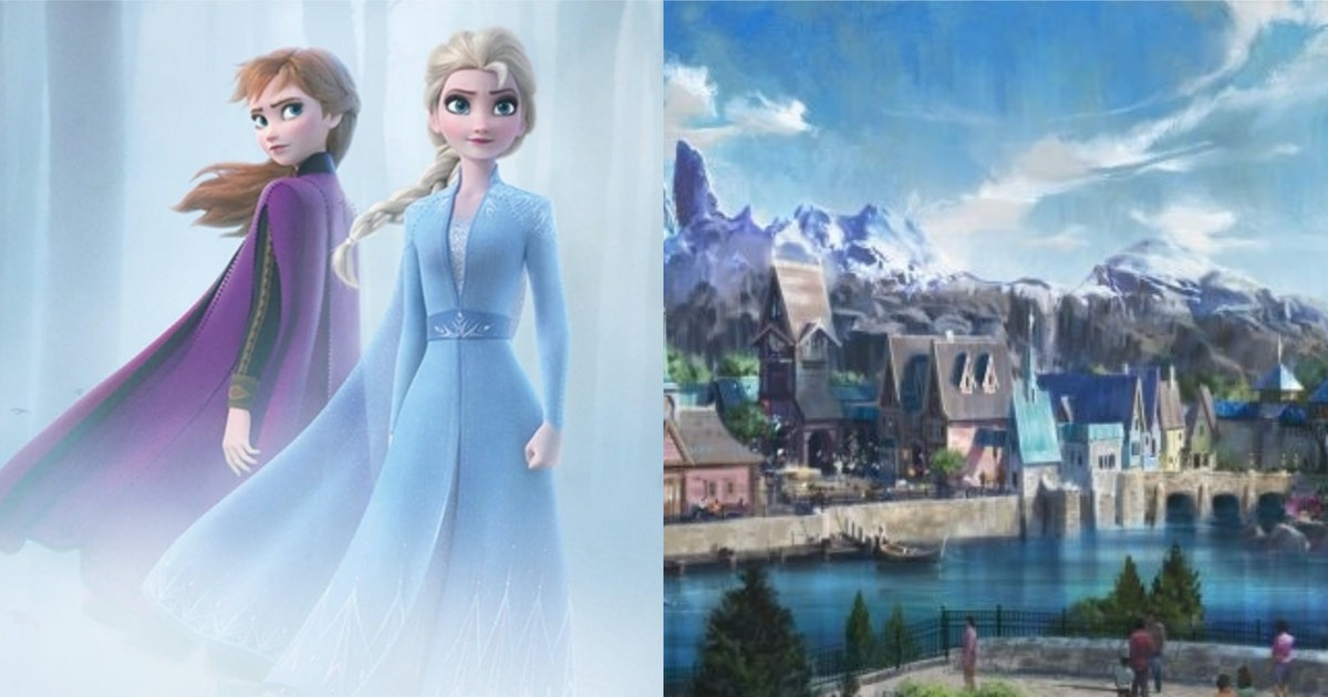 Disney Is Building A Fully-Immersive 'Frozen' Land Based On Scandinavia