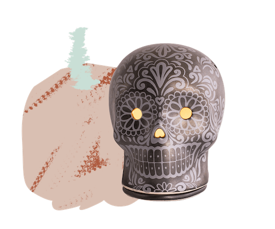 Day of the Dead Wax Warmer