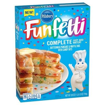 Pillsbury Pancake & Waffle Mix, Buttermilk, with Candy Bits