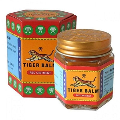 Tiger Balm Extra Strength Red Ointment Herbal Muscle Rub