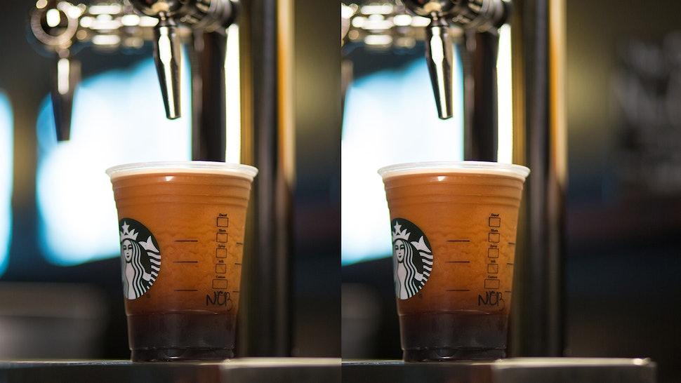 Starbucks Nitro Cold Brew Doesn T Come In A Venti Here S Why
