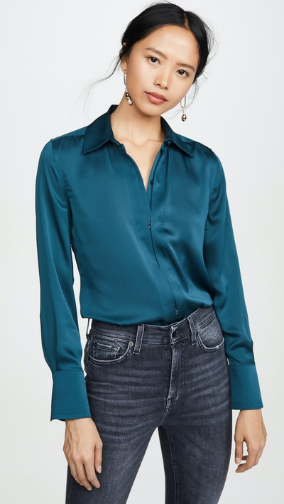 Rene Satin Blouse