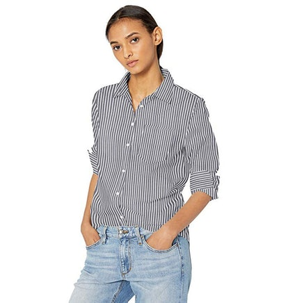 Amazon Essentials Classic-Fit Long-Sleeve Poplin Shirt