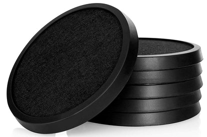 COMFORTENA Silicone Absorbent Coasters For Drinks