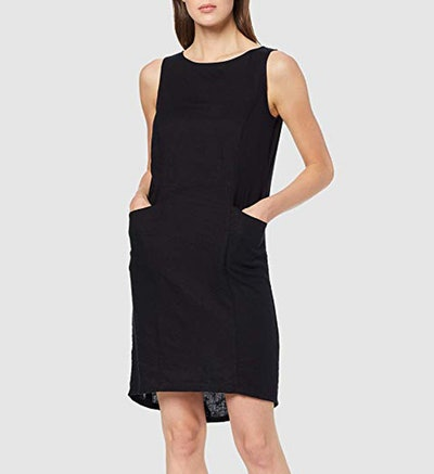 Meraki Sleeveless Linen Dress