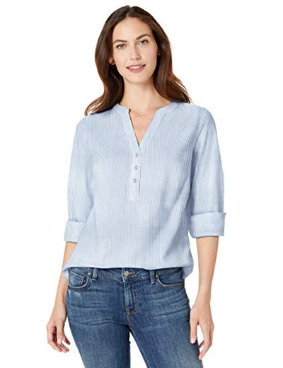 Amazon Essentials Cotton Popover Shirt