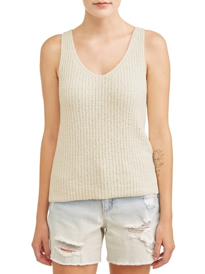 Heart N Crush Women's Sweater Tank
