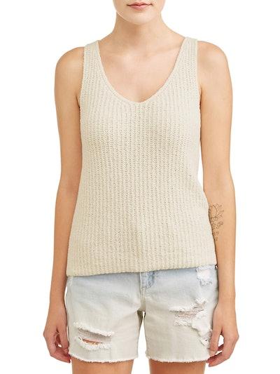 Heart N Crush Women's Sweater Tank