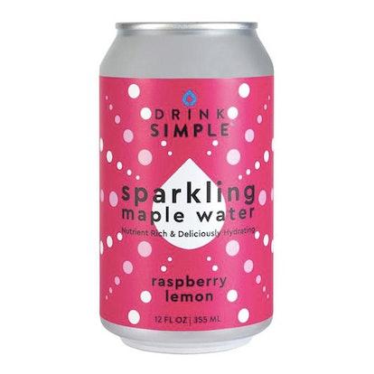 Raspberry Lemon Sparkling Maple Water (12 Pack)