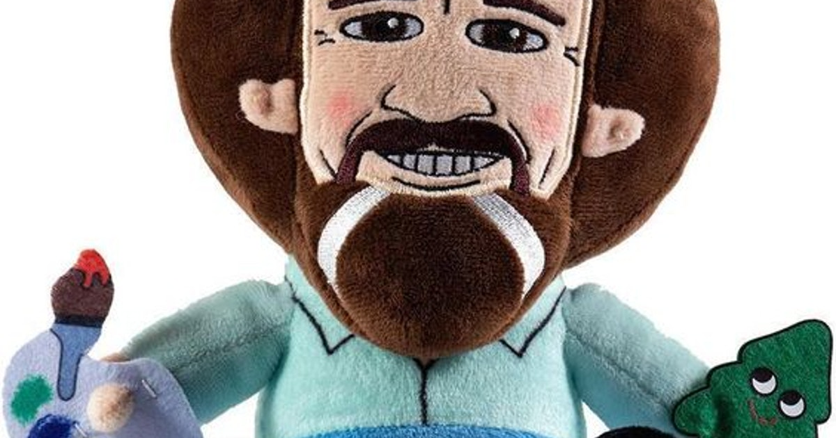 This Bob Ross Plush Toy Will Bring 'The Joy Of Painting' Back Into Your Life