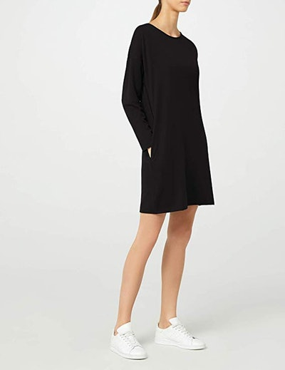 Meraki Long Sleeve Shift Dress