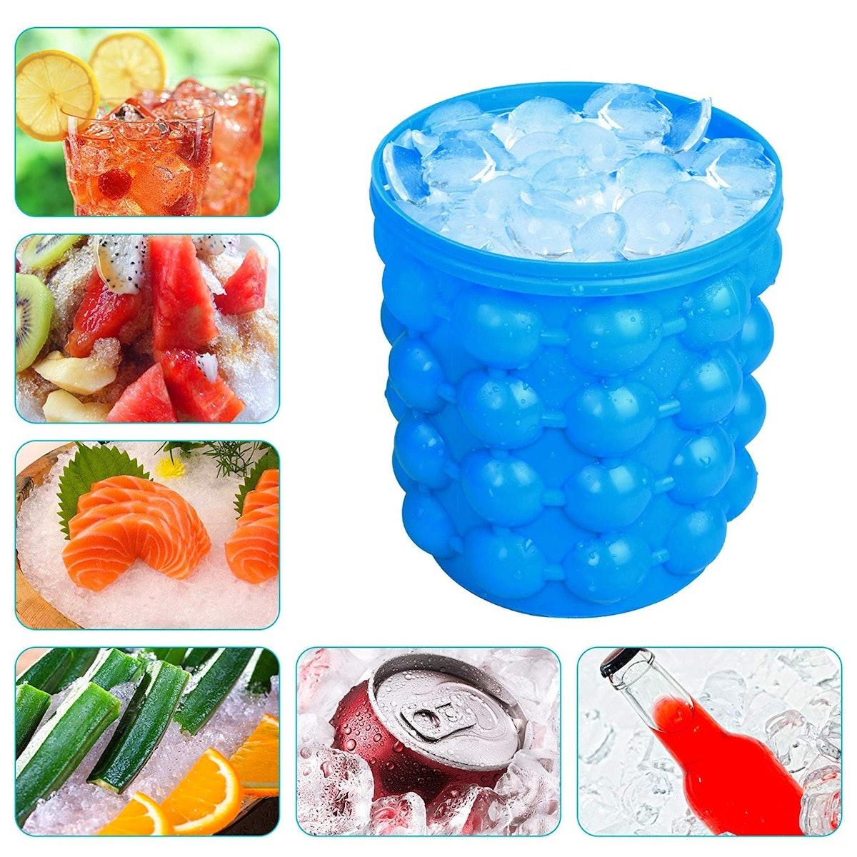 Ice Cube Maker Bucket