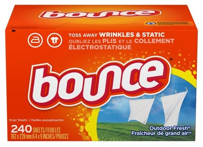 Bounce Fabric Softener & Dryer Sheets (240 Count)
