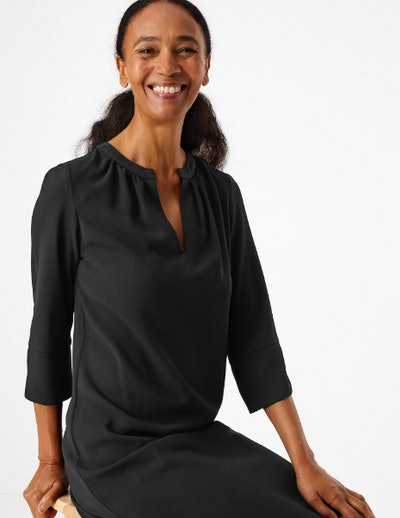 Marks & Spencer Crepe Shift Dress