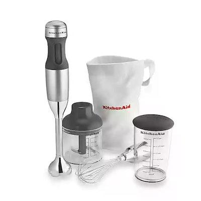 KitchenAid 3-in-1 Immersion Hand Blender in Silver
