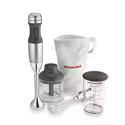 KitchenAid 3-in-1 Immersion Hand Blender in Silver