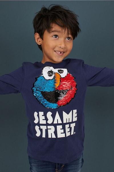 Jersey Shirt with Motif