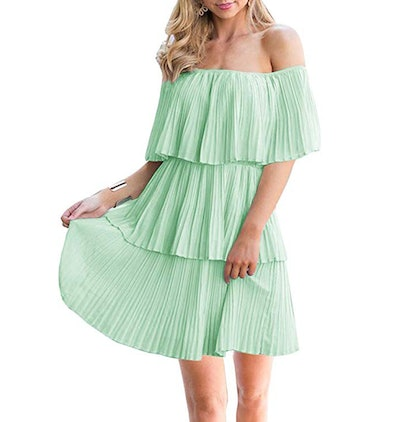 Soesdemo Tiered Ruffle Dress