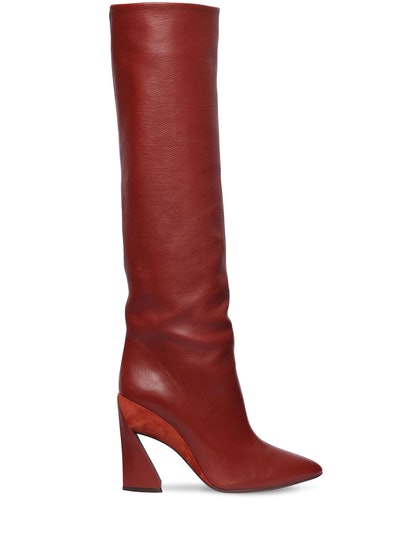 Sculptured Heel Boot