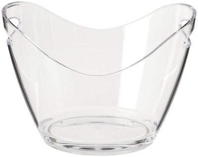 Agog Clear Ice Bucket