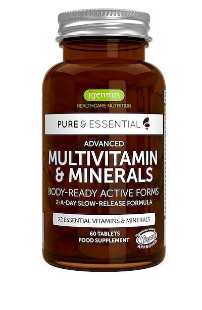 Igennus Healthcare Nutrition Pure & Essential Advanced Multivitamin & Minerals (60 Tablets)