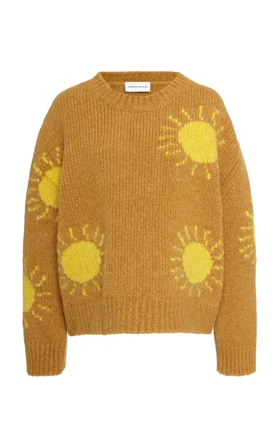 Alpaca Wool Sun Sweater
