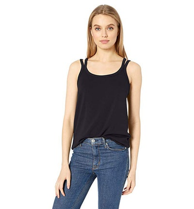 Daily Ritual Supersoft Terry Double-Strap Tank