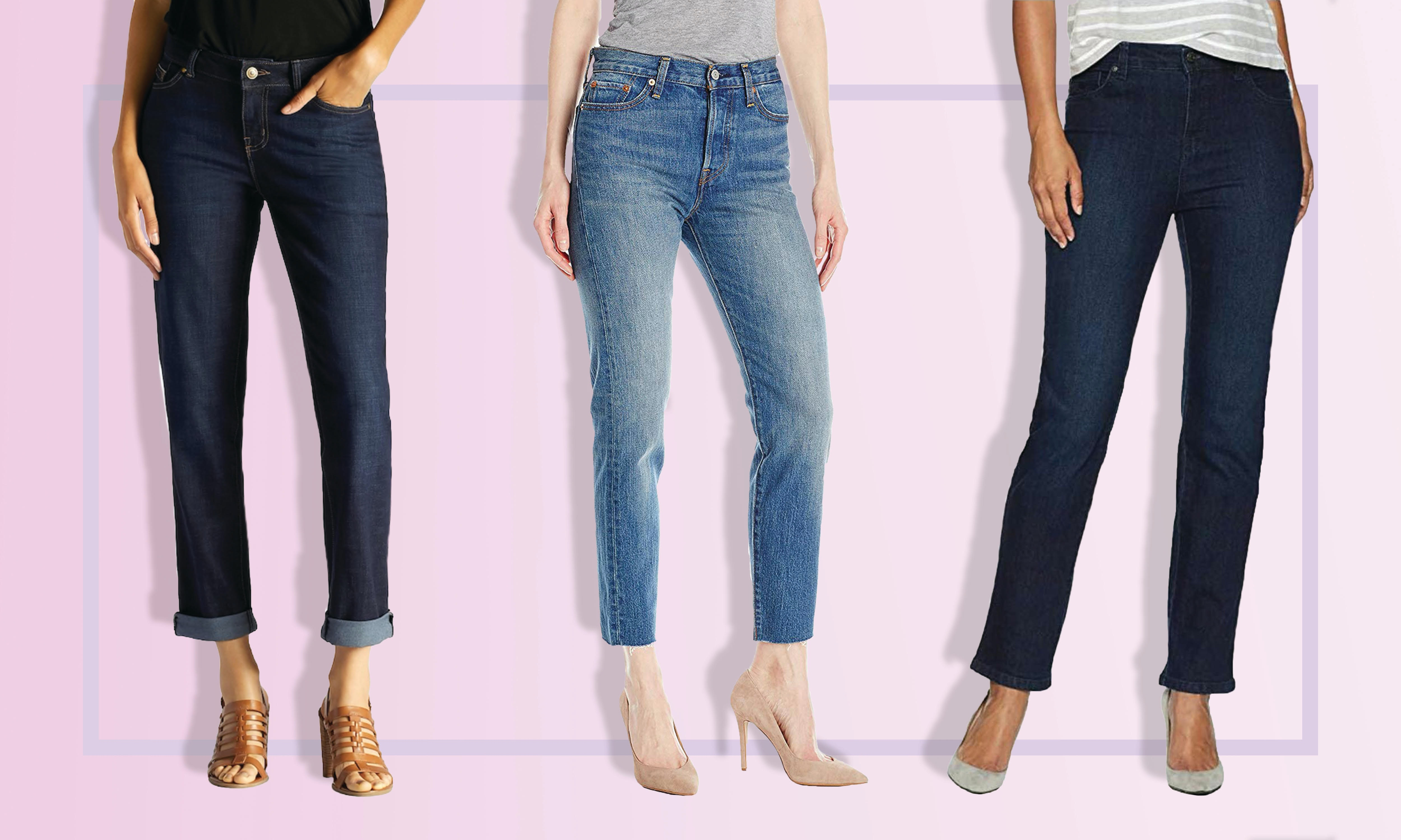 The 6 Best Jeans For Women With Big Thighs