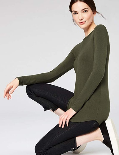 Daily Ritual Supersoft Terry Long-Sleeve Shirt