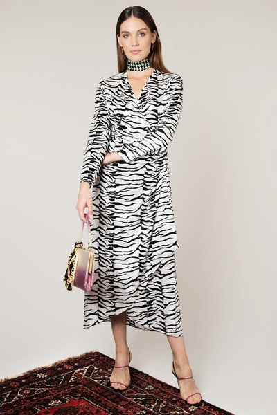 Mono Tiger Betty Wrap Dress
