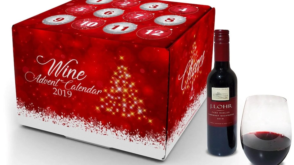 this 2019 wine champagne advent calendar is something to. Black Bedroom Furniture Sets. Home Design Ideas