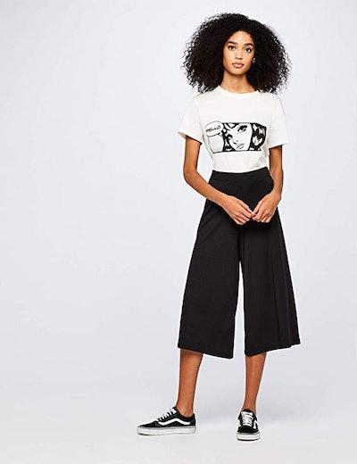 find. Comfort Crop Ribbed Pants