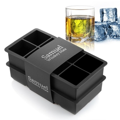 Samuelworld King Size Ice Cube Tray (2-Pack)
