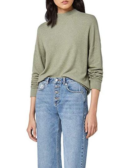 find. Oversized Long Sleeve Jersey Sweater