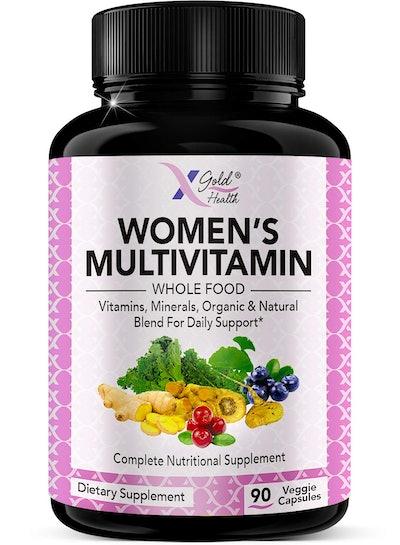 X Gold Health Women's Multivitamin (90 Capsules)