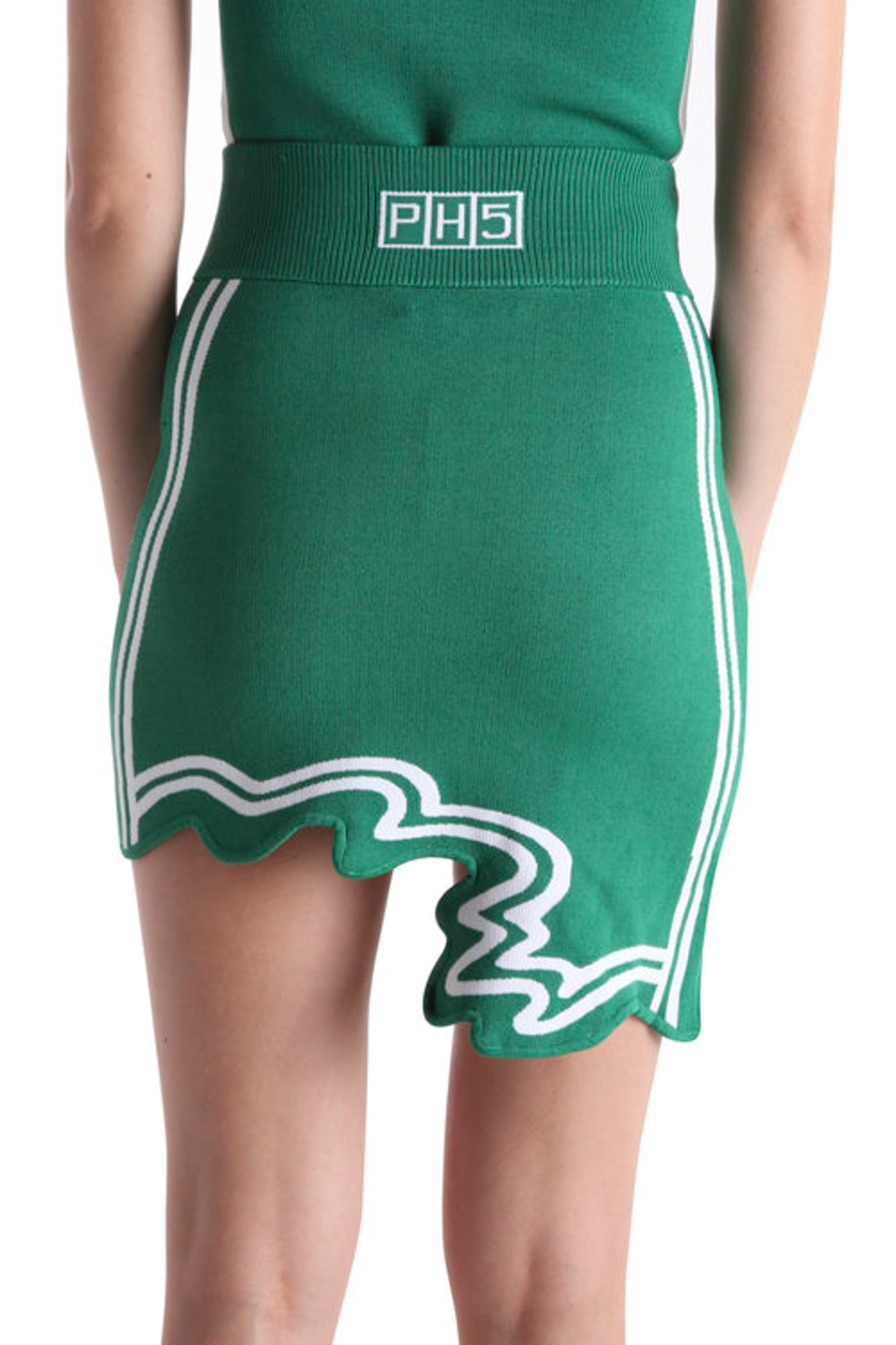 Casey Wavey Mini Skirt