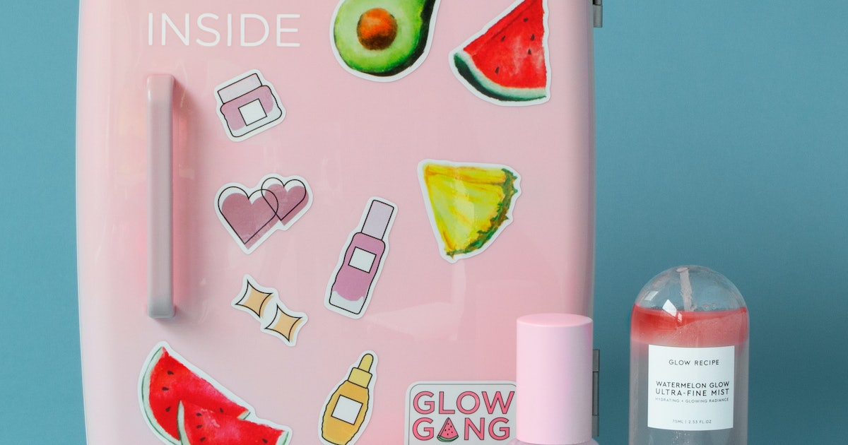 When Does The Glow Recipe x Makeup Fridge Launch? It's The Coolest Gadget In Skin Care