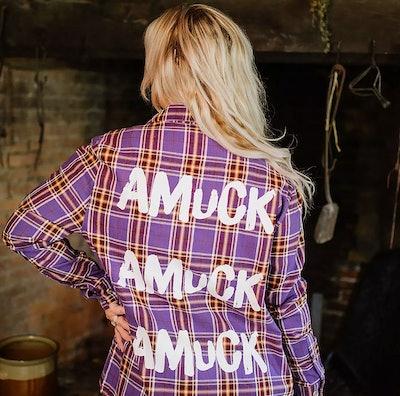 """""""Amuck"""" Hocus Pocus Flannel"""
