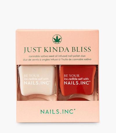 Nails Inc Just Kinda Bliss Nail Duo