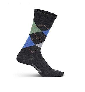 Feetures Men's Everyday Performance Dress Sock